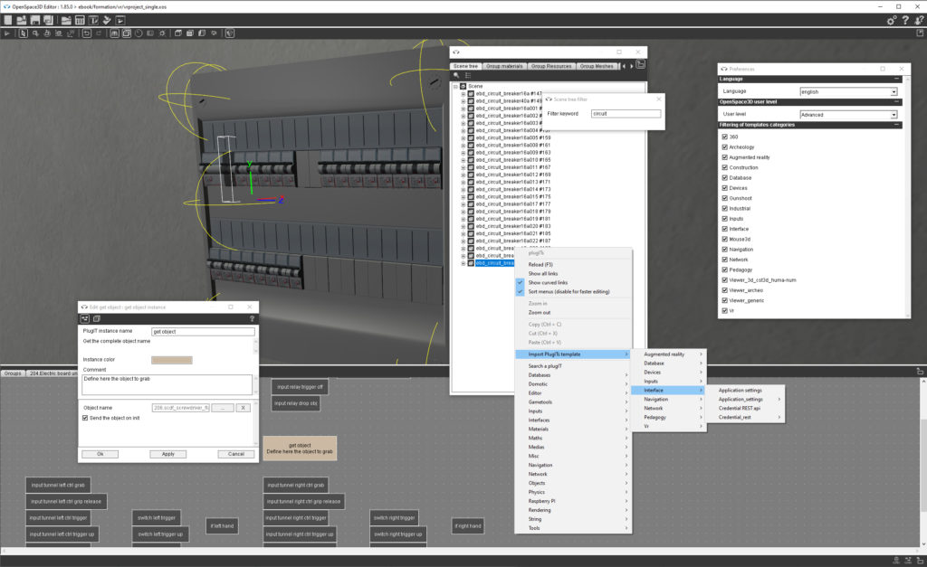 OpenSpace3D 1.85 features